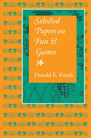 selected papers on fun and games knuth