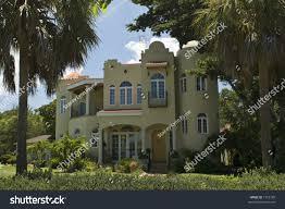Florida Mediterranean Style Homes Luxury Mediterraneanstyle Home St Petersburg Florida Stock Photo