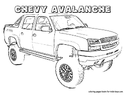 trucks coloring pages glum me