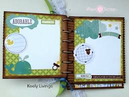 baby boy scrapbook album baby boy mini album st scrapbook expo