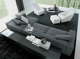 Leather Sectional Sofa Sleeper Interesting Saving Space With Modular Sectional Sofa Furniture