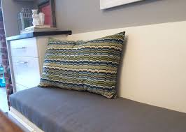 diy upholstered banquette seat part one