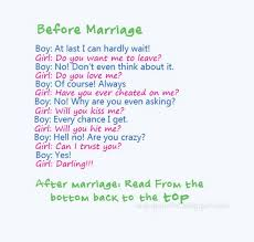 after marriage quotes before marriage after marriage nineimages