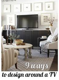 9 ways to design around a tv cs blog images u0026 posts pinterest