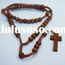 bead necklace with cross images Sandi pointe virtual library of collections jpg