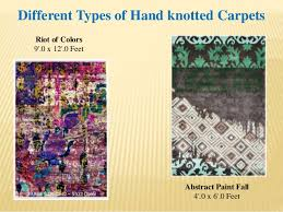 Different Types Of Carpets And Rugs Hand Knotted Carpets And Rugs In India