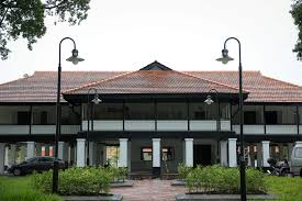 The Oval Dine In Conserved Colonial Bungalows At Seletar Aerospace Park