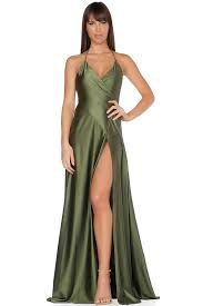 evening gown evening gown olive antidote la