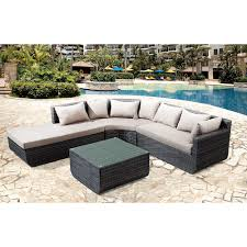 lounge curved outdoor sofa decorating curved outdoor sofa