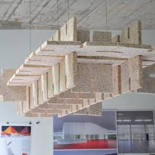acoustic insulation wool for ceilings panel troldtekt