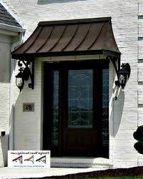 Metal Awnings For Home Windows Metal Awnings For Front Doors My Blog