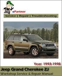 1998 jeep grand manual jeep grand zj service repair manual 1993 1998