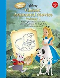 learn draw disney u0027s classic animated movies vol 1 featuring