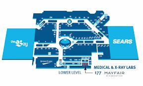 Somerset Mall Map Southcentre Mayfair Diagnostics