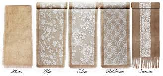 Burlap Lace Table Runner Table Runner New 366 Table Runners Lace