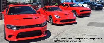 dodge challenger vs viper 2015 2017 dodge charger hellcat 204 mph 707 hp