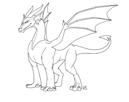 easy outlines dragon outlines ii by suzidragonlady on deviantart