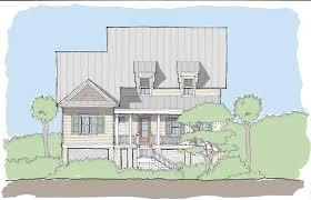 small coastal house plans creek collection u2014 flatfish island