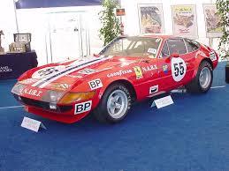 ferrari classic race car 1971 ferrari 365 gtb 4 daytona competizione s1 ferrari