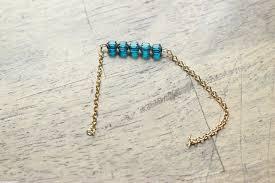 diy bead chain bracelet images Diy beaded chain bracelet jpg