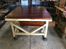 vintage kitchen work table kitchen table kitchen work table with drawers islands trolleys