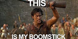 Evil Dead Meme - you can watch the first episode of ash vs evil dead right here