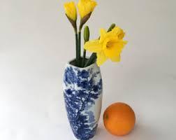 Chinese Blue And White Vase Blue And White Vase Etsy