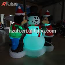 Minnie Mouse Christmas Decorations Christmas Decoration Inflatable Mickey And Minnie Mouse With