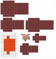 Paper Craft Steps - make steps how minecraft papercraft nether portal to make steps