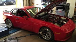 porsche 944 ls1 ls1 swapped porsche 944 turbo dyno