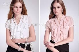 pretty blouses 2018 pretty falbala s blouse ol chiffon blouses in