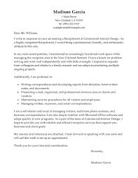 Resume Cover Letter Medical Receptionist Cover Letter For Resume Resume For Your Job Application