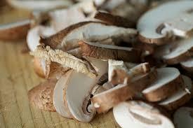 roasted mushroom crostini fork my life