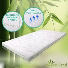 Ventilated Mattress Pad Eco Memory Foam Mattress Topper Mattress