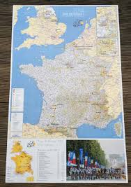 Tour De France Route Map by Official Tour De France Guide Australian Edition Ride Media