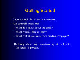 research paper writing process writing a research paper ppt video online download 5 getting