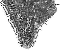 downtown manhattan map cultural s historical map shows lower manhattan then