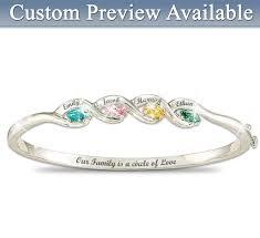 mothers birthstone bracelet personalized mothers birthstone bracelets