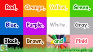 color or colour the colors song learn the colors colours simple learning for
