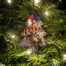 polar express tree hanging acrylic 8554355 hsn