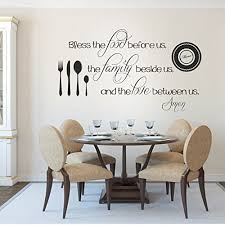 dining room wall decals wall decals for dining room amazon com