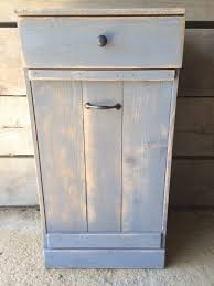 tips wooden trash can trash can inside cabinet tilt out trash bin