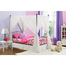 Children S Twin Bed Frames Kids Room With White Wooden Twin Bed And Fur Rug Also Study F Desk