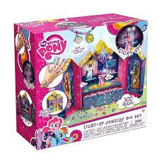 my little pony castle light up jewelry box set fireflybuys com