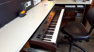 Building A Studio Desk by Building A Heavy Duty Piano Drawer Nomadic Research Labs