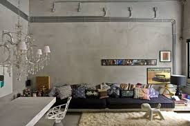 10 charming industrial living room interior design ideas
