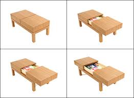 multipurpose table with storage 15 cool and creative multi purpose coffee tables