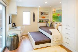 Trundle Bed For Girls Bedroom Impressive Trundle Bed In Home Office Contemporary With