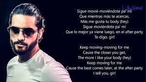best part lyrics spanish burns maluma rae sremmurd hands on me english spanish lyrics