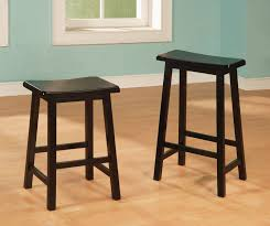 Unique Bar Stools Amusing Black Wooden Bar Stool Design Ideas With Simply Stool